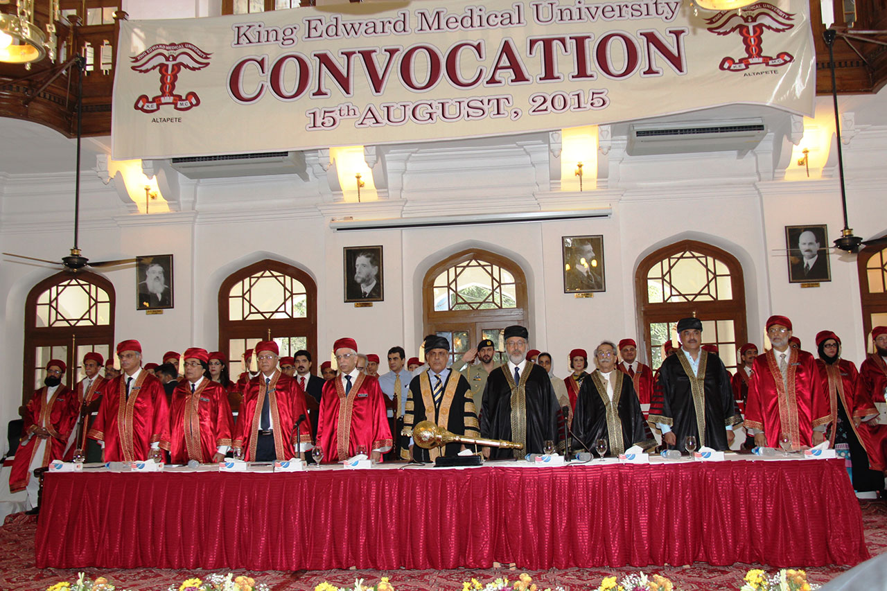 Convocation 2015 | King Edward Medical University
