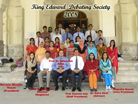 KING EDWARD DEBATING SOCIETY | King Edward Medical University