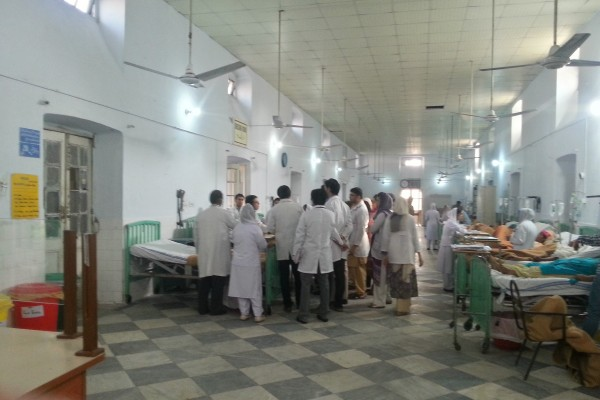 East Surgical Ward round