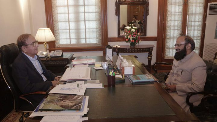 Meeting Of VC KEMU With Honorable CM Punjab (July 9,2018)