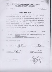 Dr. Shahzada Mahmood