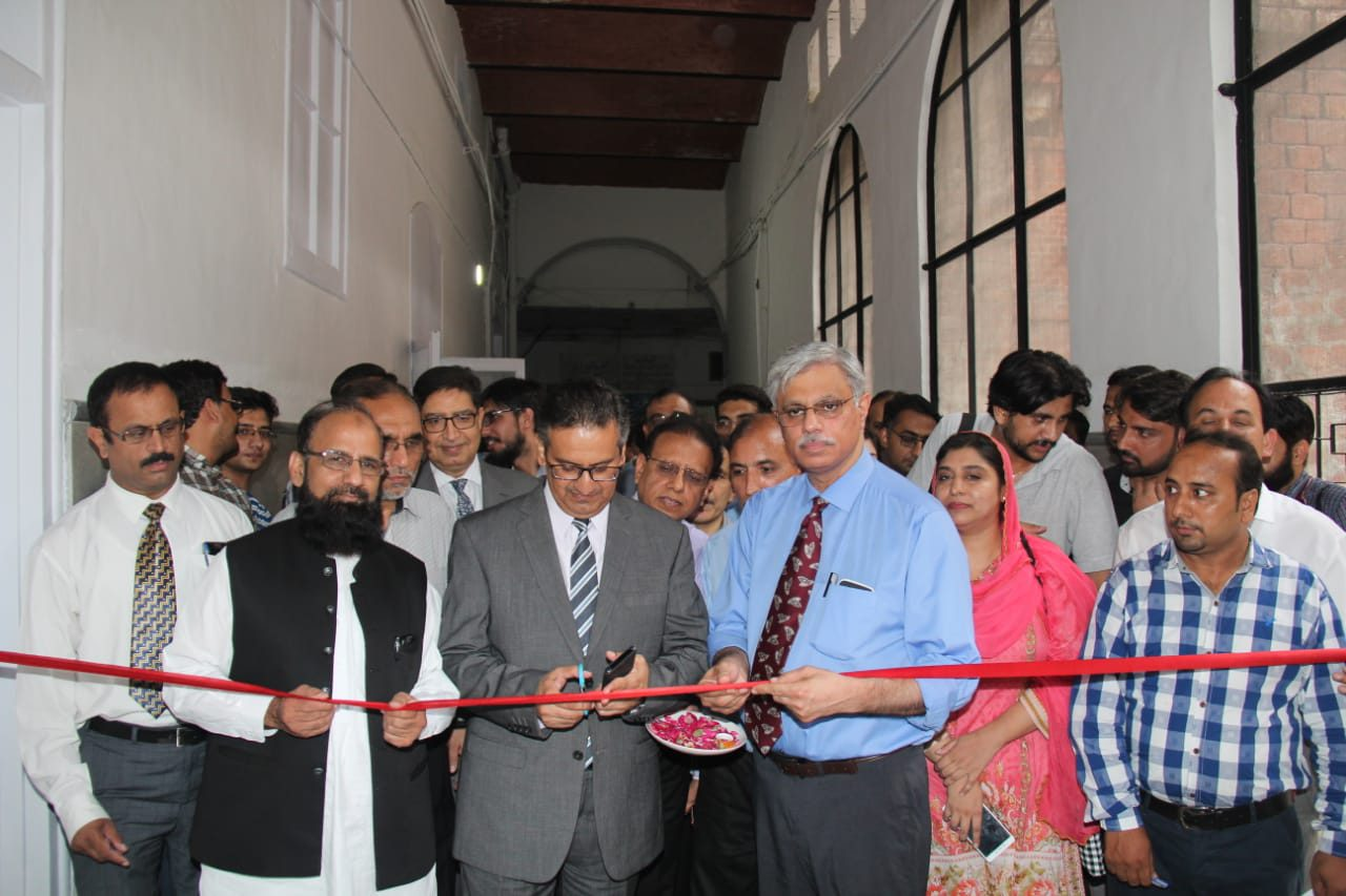 Inaugration of SMW Mayo Hospital/KEMU by SHC&ME – Mr  Saqib